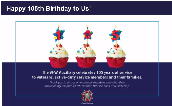 VFW Auxiliary Celebrates 105 Years of Service