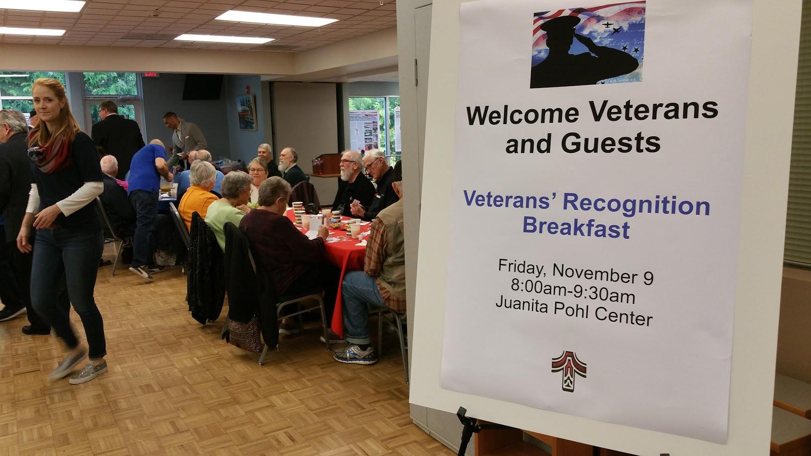 Annual Veterans Breakfast