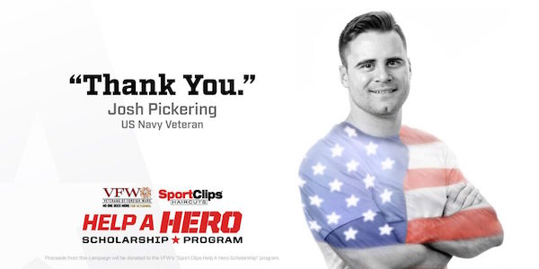Your Sport Clips Haircut Helps Veterans