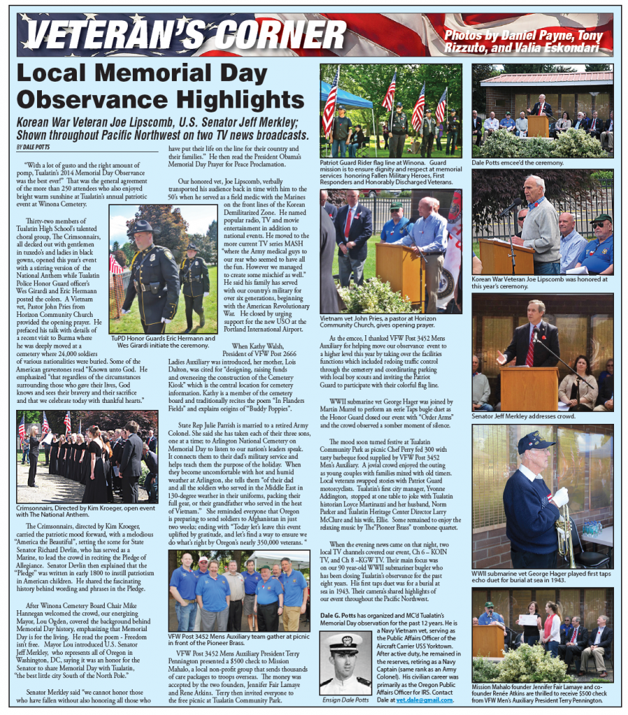News Coverage of Memorial Day 2014