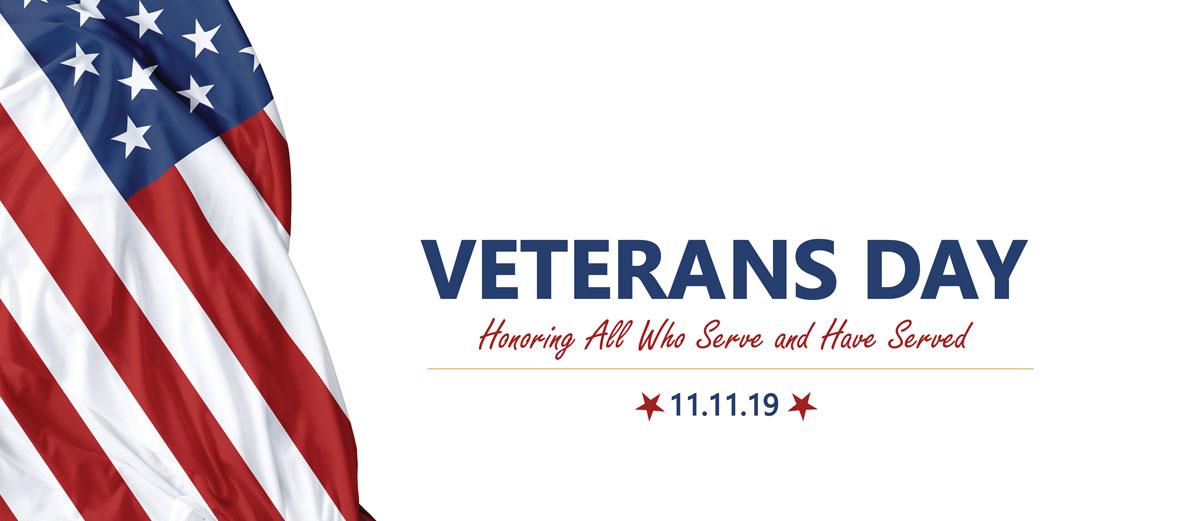 Veterans Day is November 11th