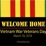 March 29 is Vietnam War Veterans Day