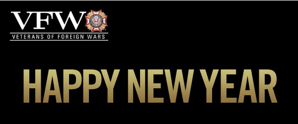Happy New 2018 from the VFW