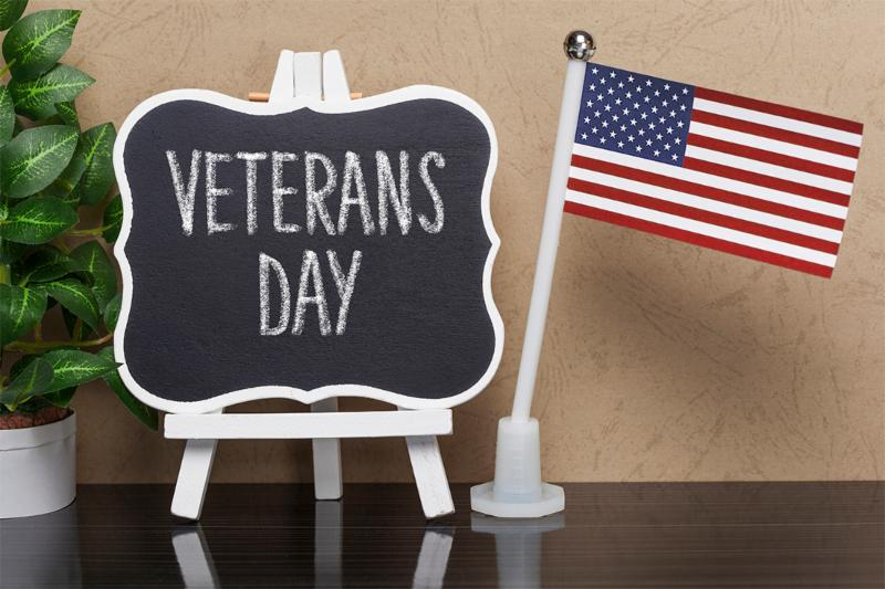 Veterans Day: Saturday, November 11, 2017